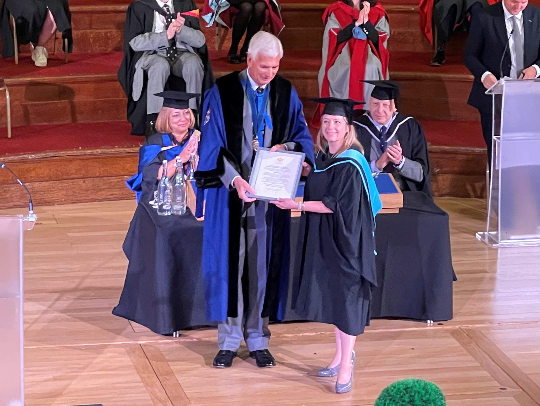 Marisa Sloper CIM graduation 2021